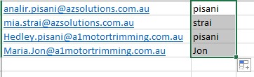 Using-FlashFill-In-Excel-Sydney-Computer-Courses